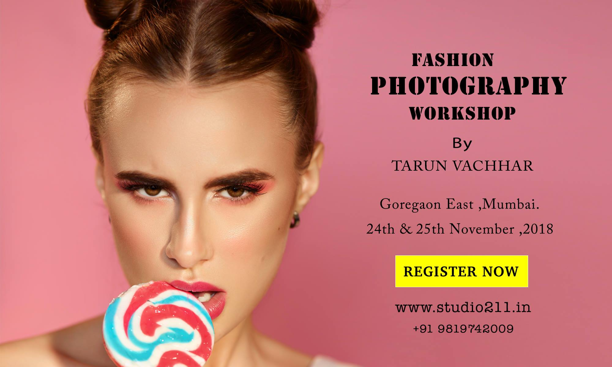Fashion and Beauty Photography Workshop